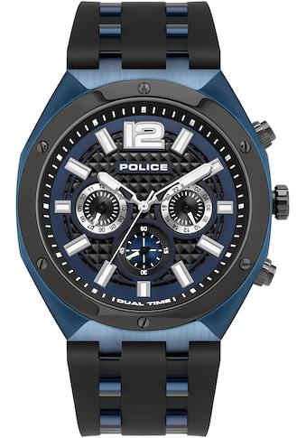 Police Multifunktionsuhr »KEDIRI, PL15995JSBLU.03P« kaufen