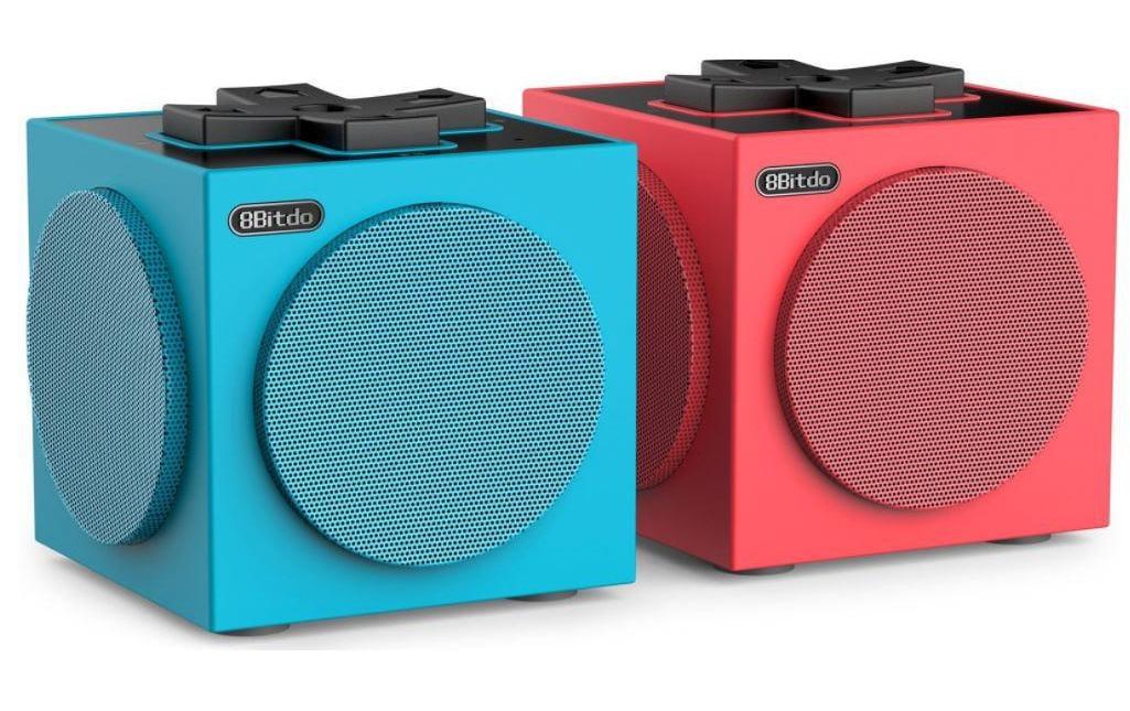 Image of 8bitdo Bluetooth Speaker »TwinCube Blau Rot«