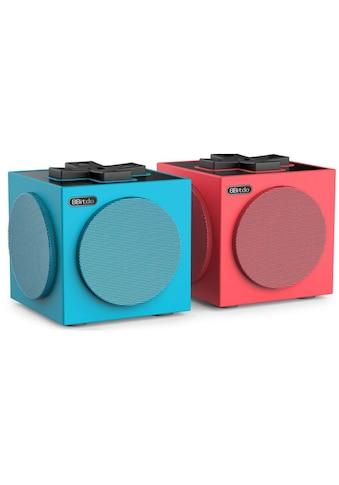 8bitdo Bluetooth-Speaker »TwinCube Blau Rot« kaufen