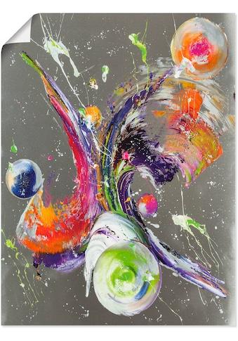 Artland Wandbild »Abstraktion XXXII«, Muster, (1 St.), in vielen Grössen &... kaufen