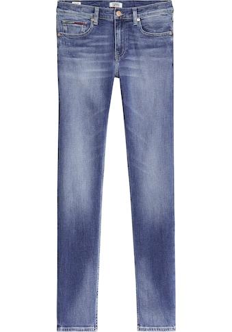 Tommy Jeans Slim-fit-Jeans »IMOGEN MR SLIM EVMBCF«, mit Fadeout-Effekten & Tommy Jeans... kaufen