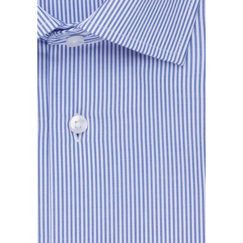 seidensticker Businesshemd »Regular«, Regular Langarm Kentkragen Streifen