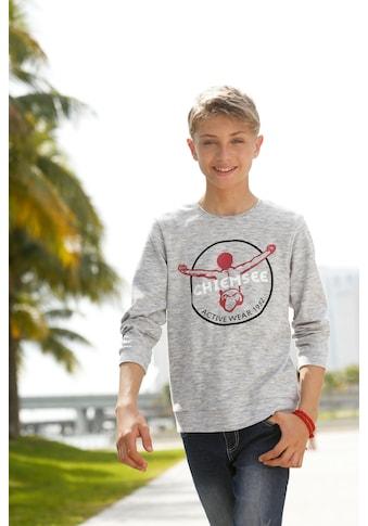 Chiemsee Langarmshirt »Interlockshirt«, mit Druck kaufen