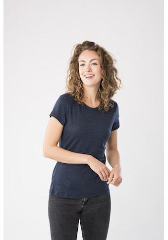 SUPER.NATURAL T-Shirt »W ESSENTIAL TEE«, optimaler Merino-Materialmix kaufen