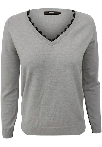 Vero Moda V - Ausschnitt - Pullover »VMKARISARA« kaufen