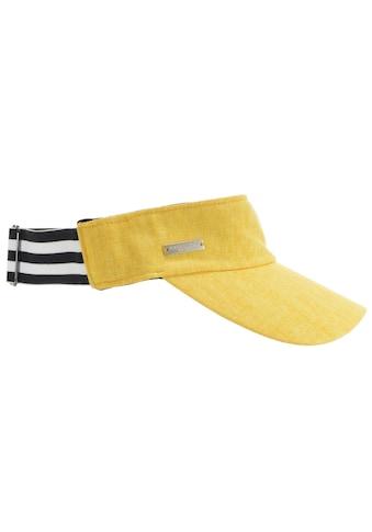 Seeberger Sonnenhut »Visor aus Baumwoll -  Leinenstoff 54617 - 0« kaufen