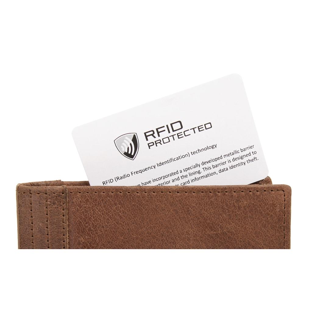 Sansibar Geldbörse, Kreditkartenfächer