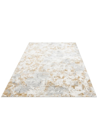 Leonique Teppich »Bertram«, rechteckig, 12 mm Höhe, mit Schrumpfgarn, Wohnzimmer kaufen