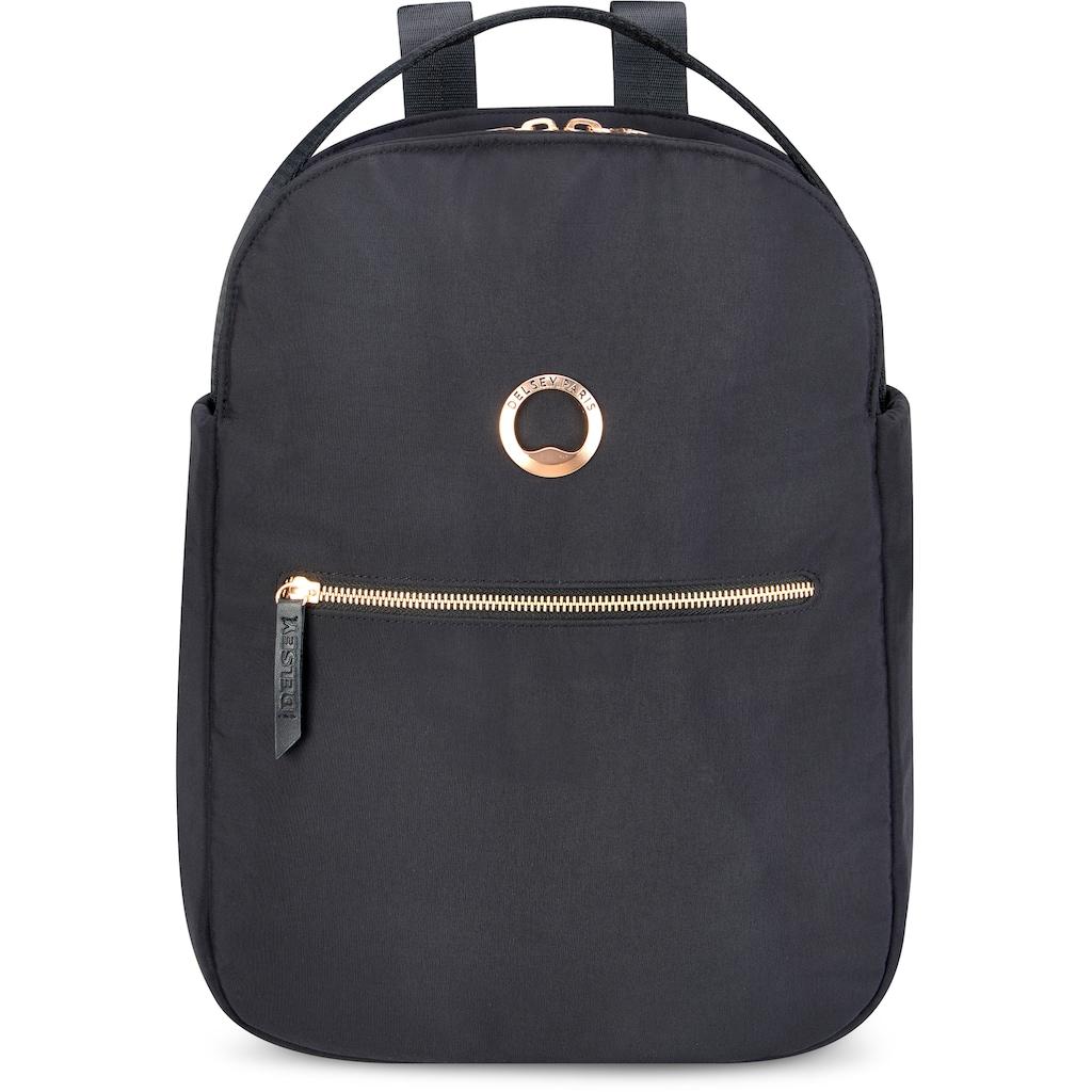 Delsey Laptoprucksack »Securstyle, black«