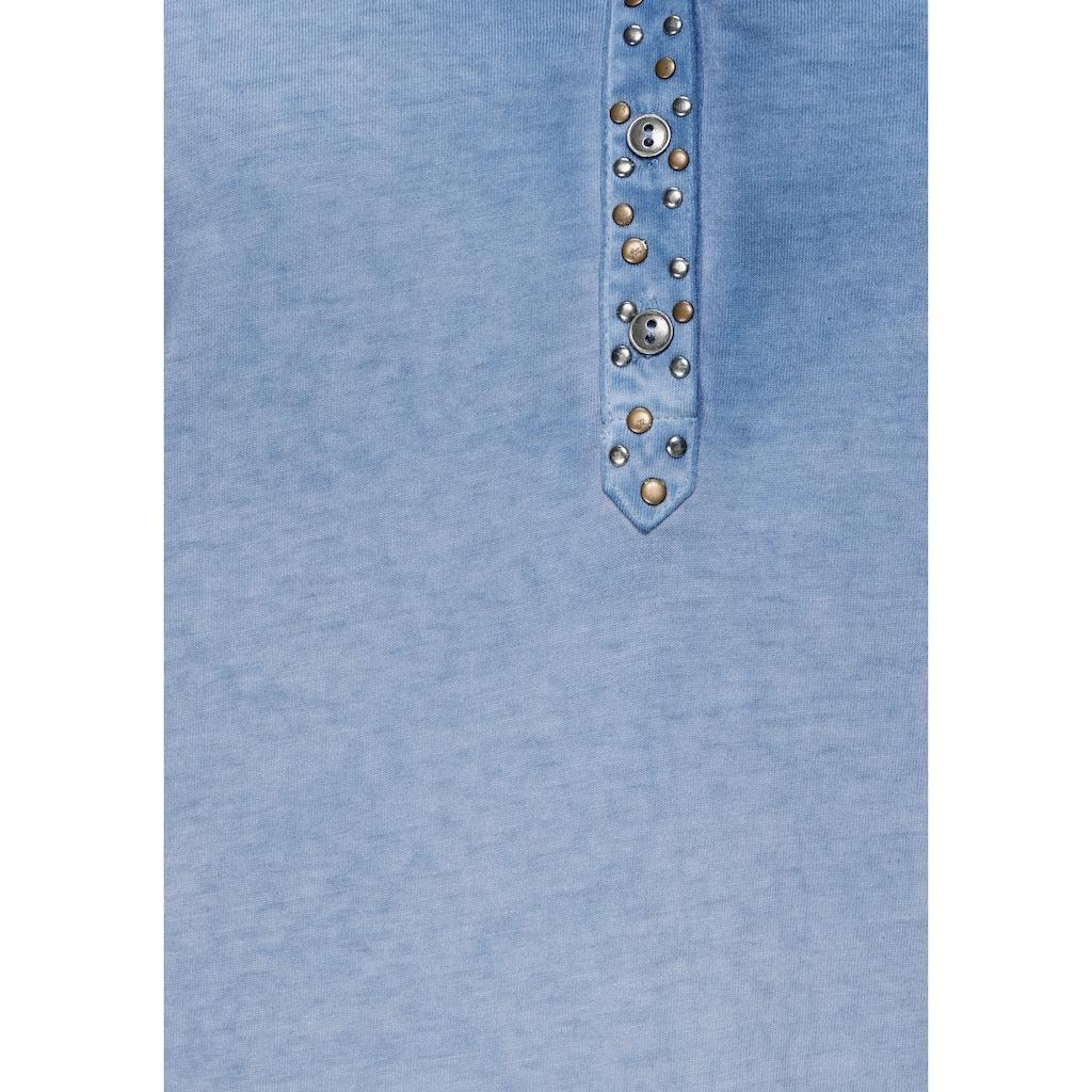 Boysen's Longshirt, im Used Look