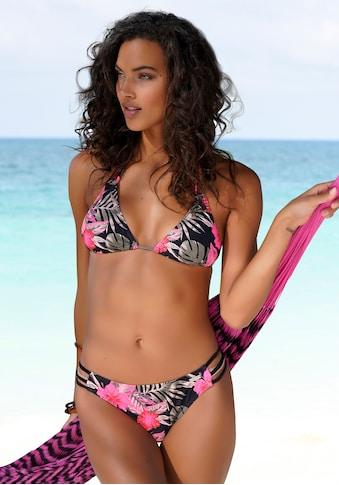 LASCANA Bikini-Hose »Elsa«, mit floralem Druck kaufen