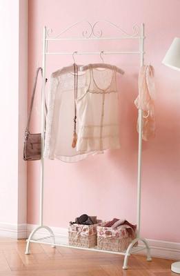 Weißer Kleiderständer