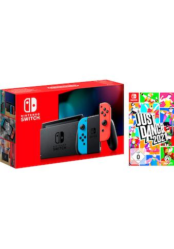 Nintendo Switch Konsolen-Set, inkl. Just Dance 2021 kaufen