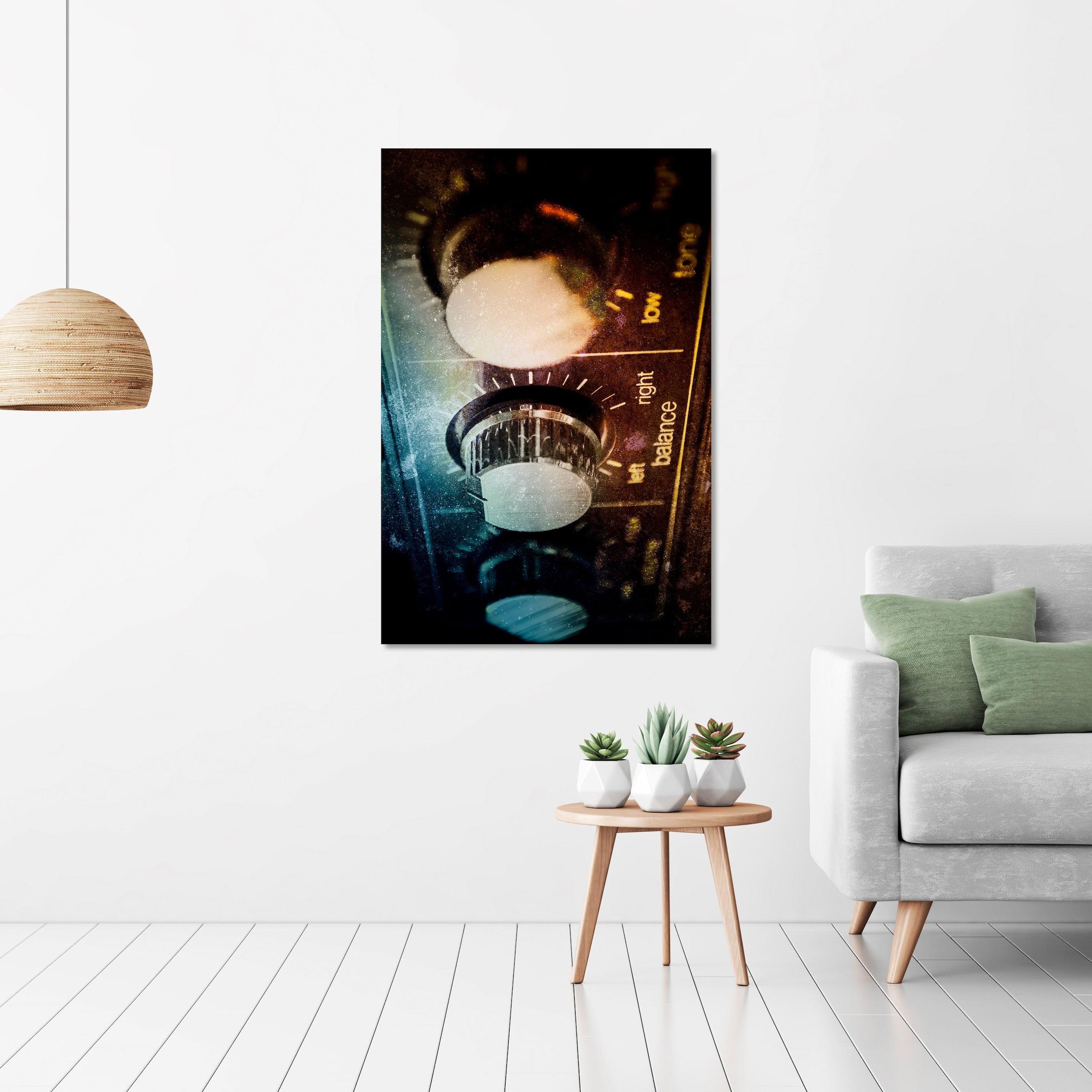Image of Art & Pleasure Acrylglasbild »Amplifier«