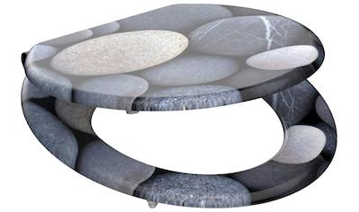 Schütte WC-Sitz »MDF WC- Sitz mit Holzkern und Absenkautomatik«, geräuschloses Schliessen kaufen