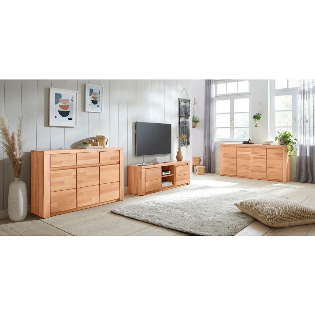 Premium collection by Home affaire Lowboard »Burani«, grifflose Optik
