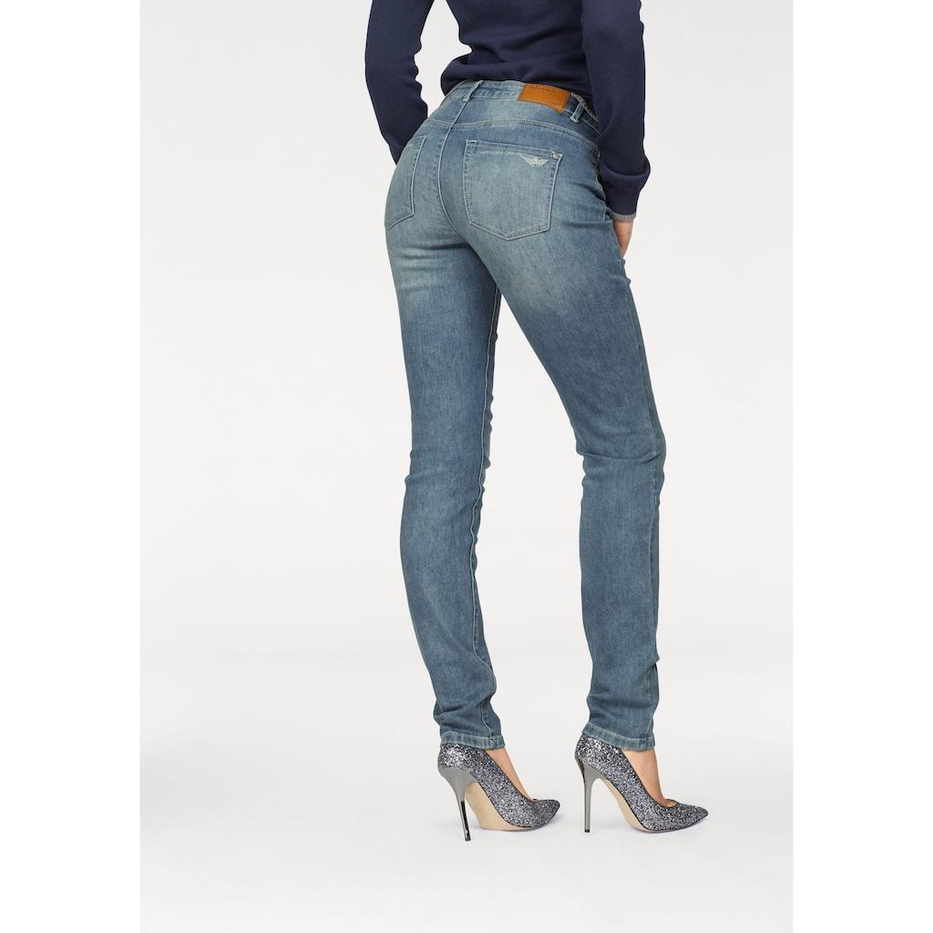 Arizona Skinny-fit-Jeans »mit Thermo Effekt«, High Waist