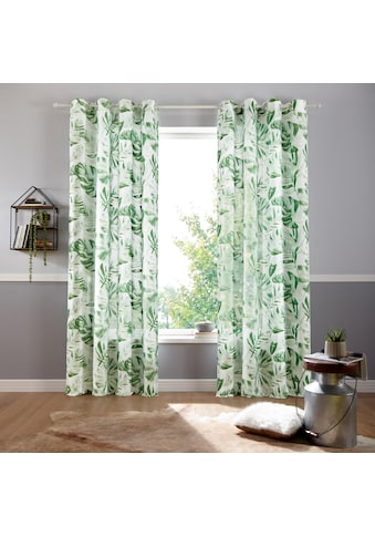 my home Vorhang »Monstera« kaufen