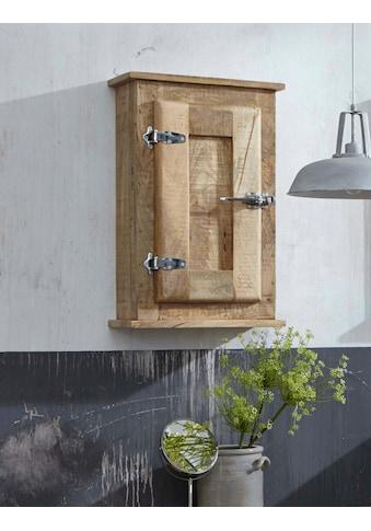 SIT Hängeschrank »Frigo«, Mangoholz im Antik-Look mit Kühlschrankgriffen, Breite 45... kaufen