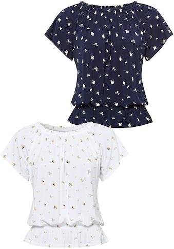 Vivance Carmenshirt, variabler Ausschnitt kaufen