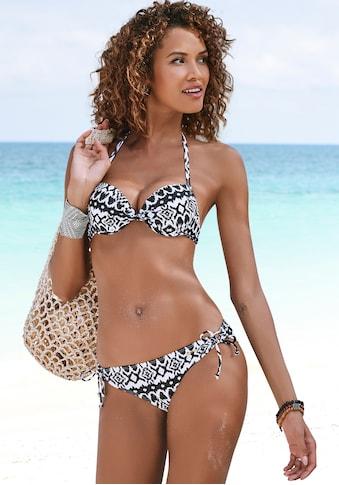 LASCANA Push-Up-Bikini-Top »Grace«, im modernen Design kaufen