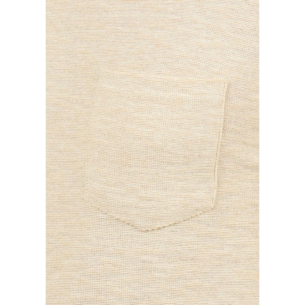 Blend Strickpullover »Gan«, Strickpulli mit Rundhalsausschnitt