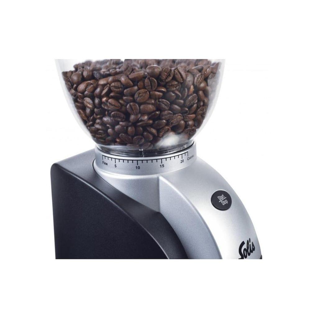 SOLIS OF SWITZERLAND Kaffeemühle »Scala Plus Typ 1661«, 135 W, Kegelmahlwerk, 300 g Bohnenbehälter
