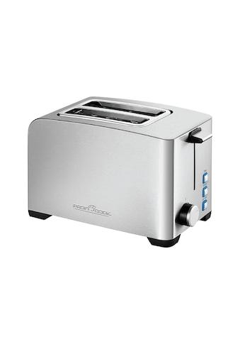 ProfiCook Toaster »PCTA 1082«, für 2 Scheiben, 850 W kaufen