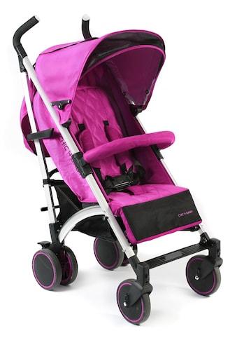 CHIC4BABY Kinder-Buggy »Luca, fuchsia«, mit schwenk- und feststellbaren Vorderrädern;... kaufen