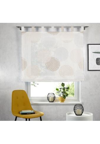 my home Raffrollo »Belem«, mit Schlaufen kaufen