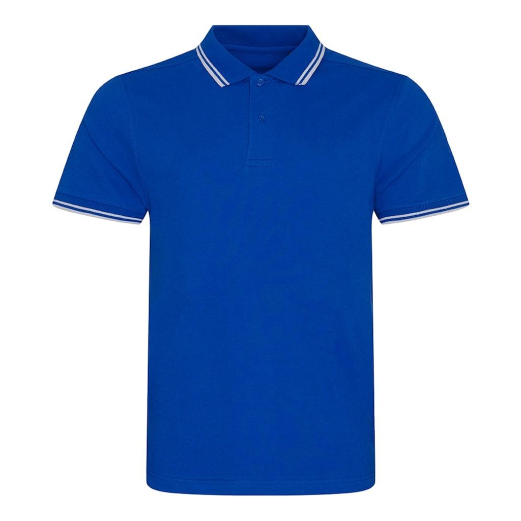 AWDIS Poloshirt »Herren Stretch Tipped Pique Polo Shirt«