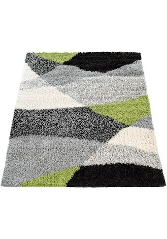 Paco Home Hochflor-Teppich »Mango 308«, rechteckig, 35 mm Höhe, Shaggy, modernes... kaufen