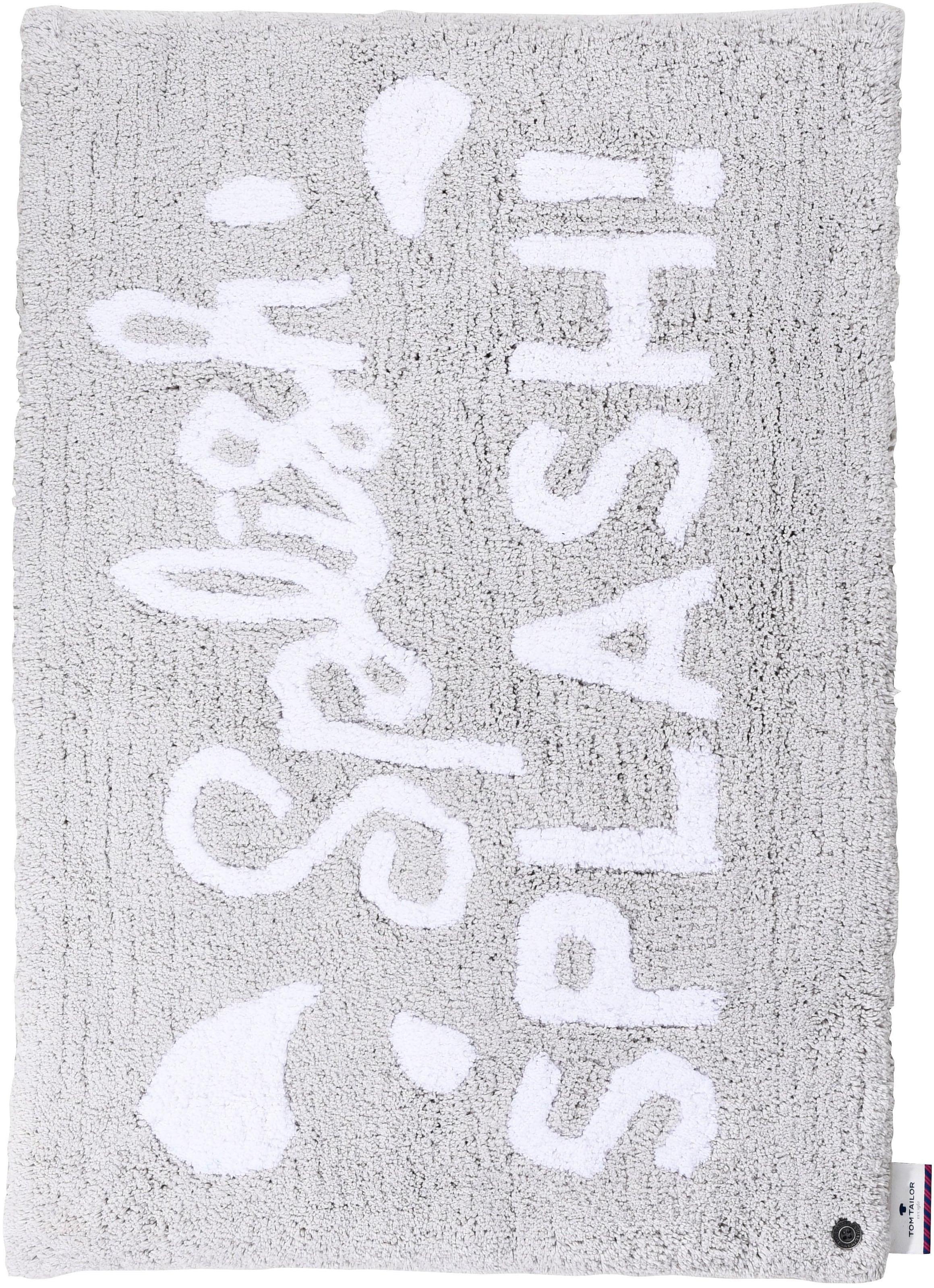 Image of Badematte »Cotton Splash«, TOM TAILOR, Höhe 20 mm, fussbodenheizungsgeeignet
