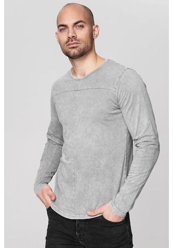 trueprodigy Langarmshirt »Premium Basic Ronin«, Vintage Look kaufen