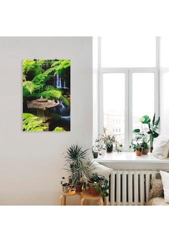 Artland Wandbild »Japanische Laterne«, Spa, (1 St.), in vielen Grössen & Produktarten... kaufen