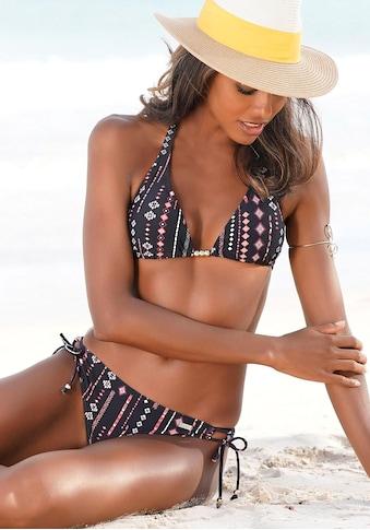 Buffalo Triangel-Bikini, mit Perlen-Accessoires kaufen