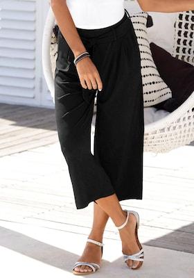 Culotte in Schwarz
