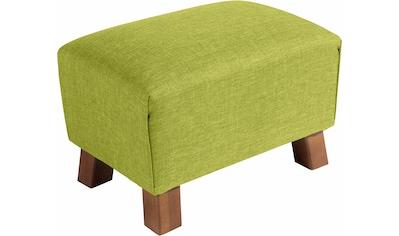 Max Winzer® Fusshocker »Footstool«, Minihocker Breite 40 cm kaufen