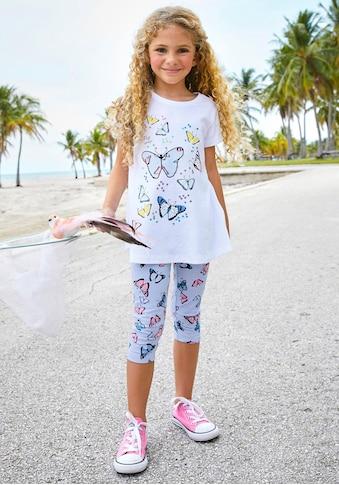 KIDSWORLD Shirt & Leggings, mit Schmetterlingsmotiv kaufen