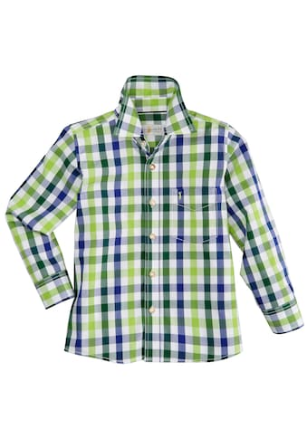 Almsach Trachtenhemd, Kinder im Karodesign kaufen