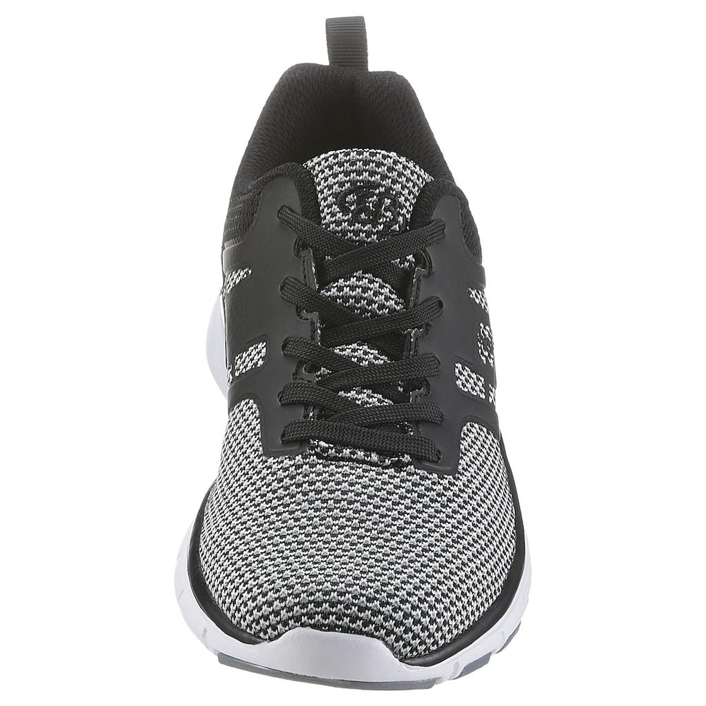 BRÜTTING Sneaker »Skill«, im Knitwear-Look