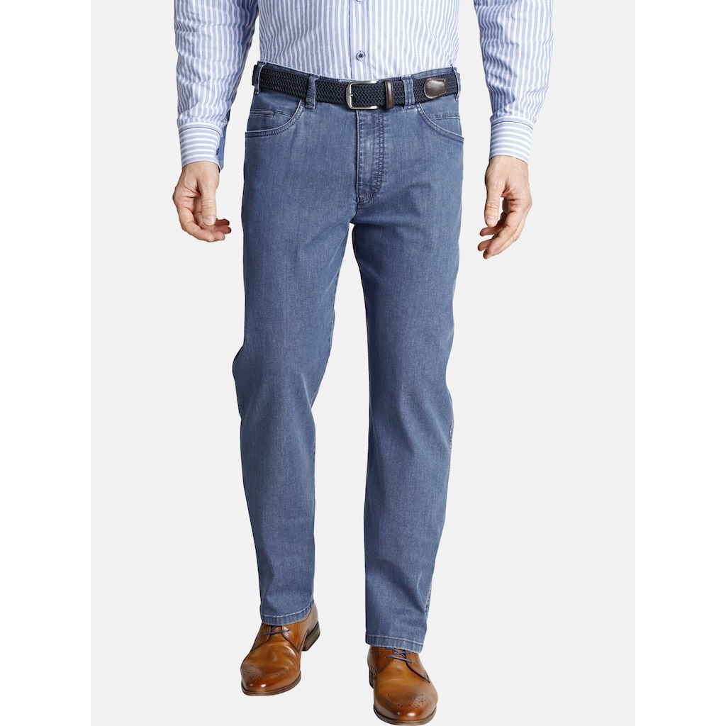 Charles Colby Regular-fit-Jeans »ANDRED«, High Stretch Dehnbund