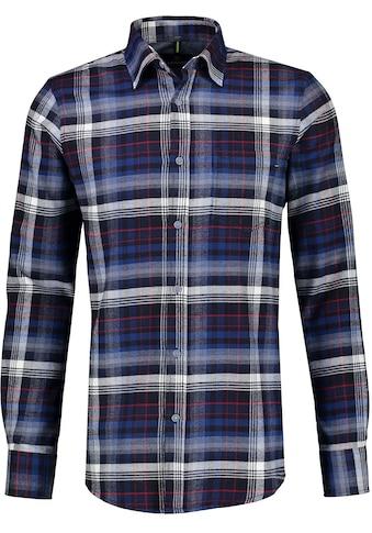 LERROS Langarmhemd, mit Karomuster kaufen