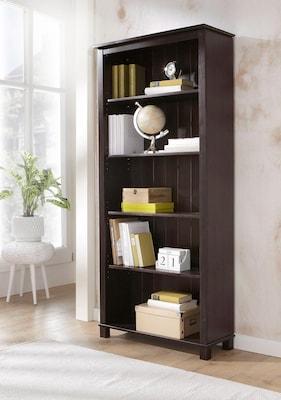 Braunes Bücherregal