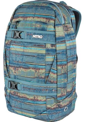 NITRO Laptoprucksack »Aerial Frequency Blue« kaufen