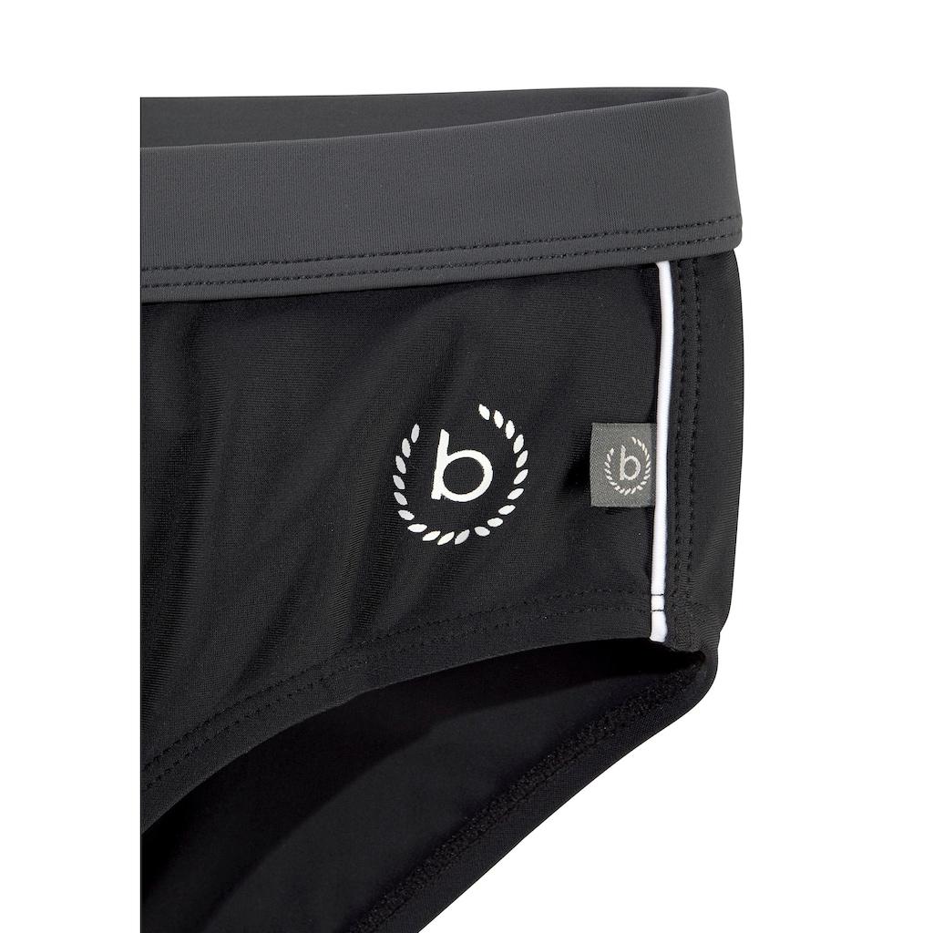 bugatti Badeslip, mit kontrastfarbenen Details