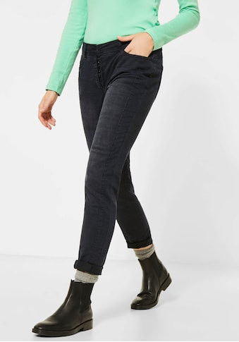 Cecil Slim-fit-Jeans »Gesa«, mit Knopfleiste kaufen