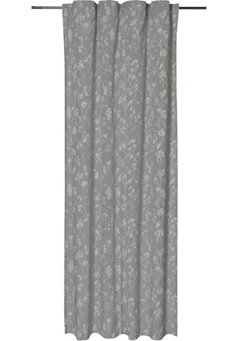 freundin Home Collection Gardine »FD Blomma 07«, verdeckte Schlaufen, 255x140 cm kaufen