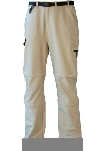 DEPROC Active Outdoorhose »KENTVILLE Double Zip-Off«, auch in Grossen Grössen erhältlich kaufen