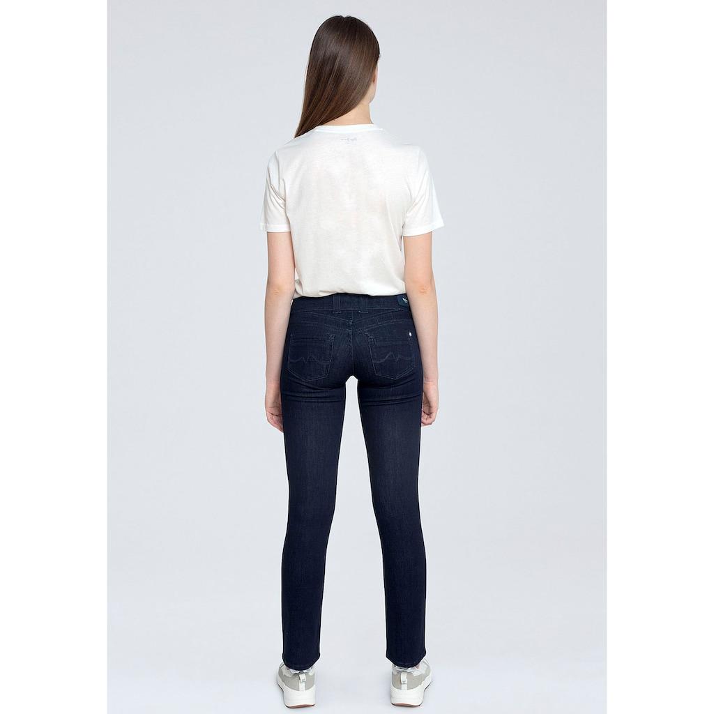 Pepe Jeans Straight-Jeans »GEN«, mit 2-Knopf Bund im Komfort-Stretch-Denim